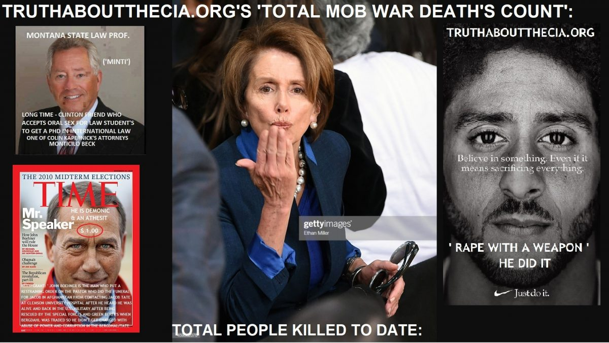 ALWAY'S REMEMBER IT WAS 'THE PELOSI'S'